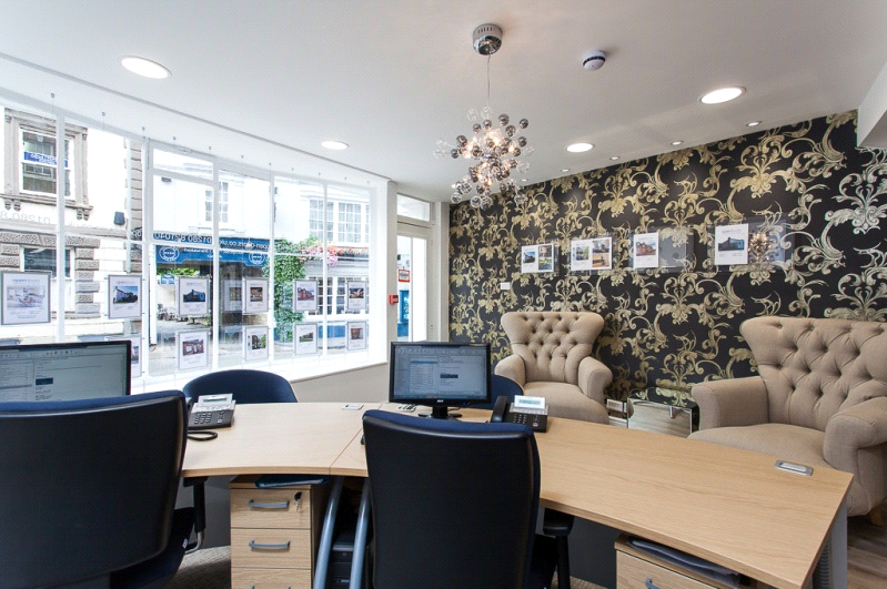 Open doors letting agent property management specia for Estate agency interior design