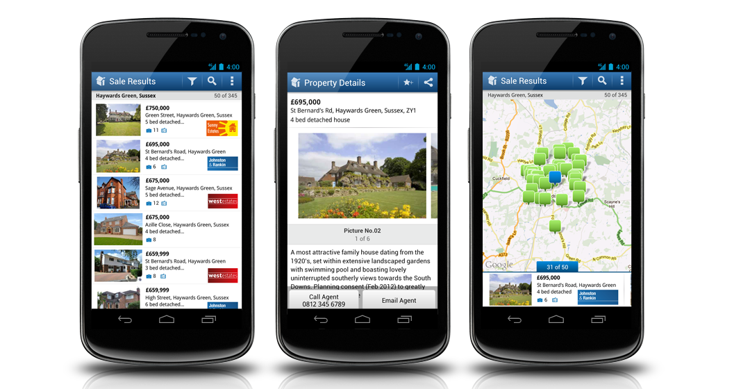Rightmove launches new Android app