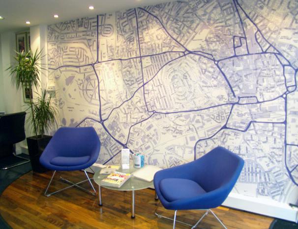 Custom Wallpaper For Estate Agents