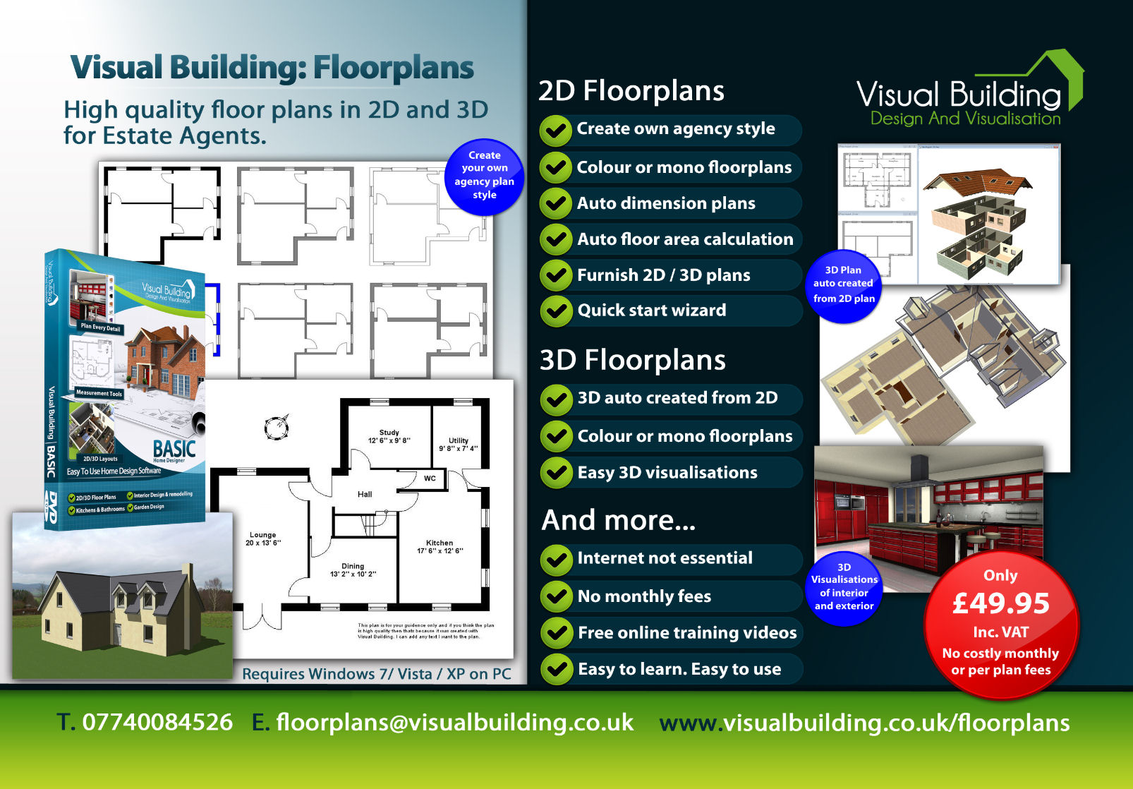 Visual Building Floor Plan Power Without The Pric
